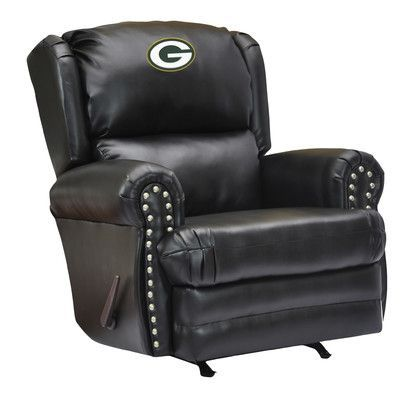 Imperial NFL Coach Leather Recliner NFL Team:
