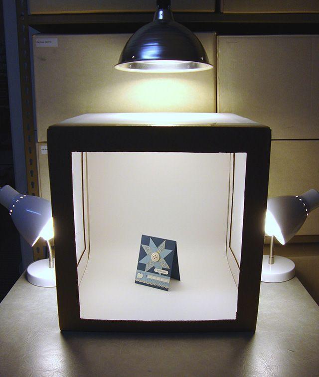 การจัดไฟให้ตู้ถ่ายรูปสินค้า / Lighting for lightbox