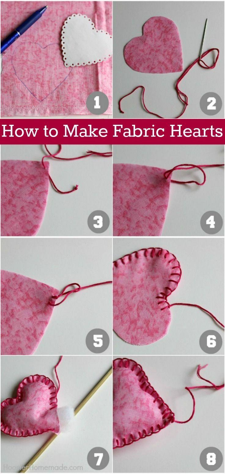 Hearts Fabric