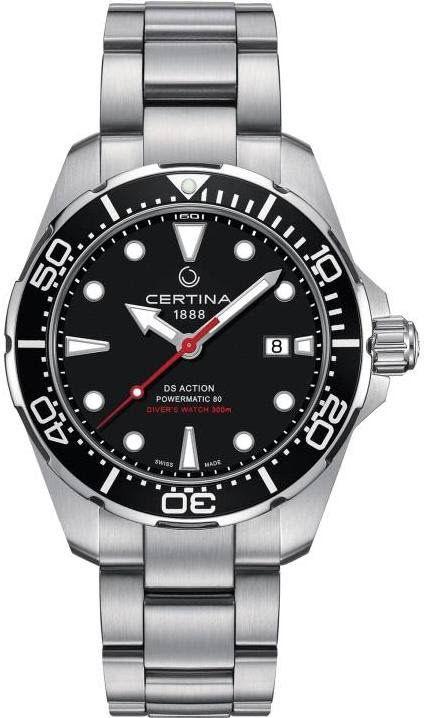 Certina Watch Ds Action Diver Pre Order Add Content Basel 17 Bezel Unidirectional Bracelet Strap St Certina Watches Mens Watches Affordable Watches For Men