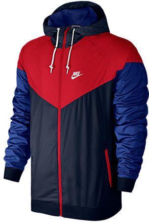 Abiertamente realimentación Hostil  Finish Line - Nike Men's Sportswear Windrunner Full-Zip Jacket | Nike  windrunner jacket, Jackets men fashion, Mens jackets casual