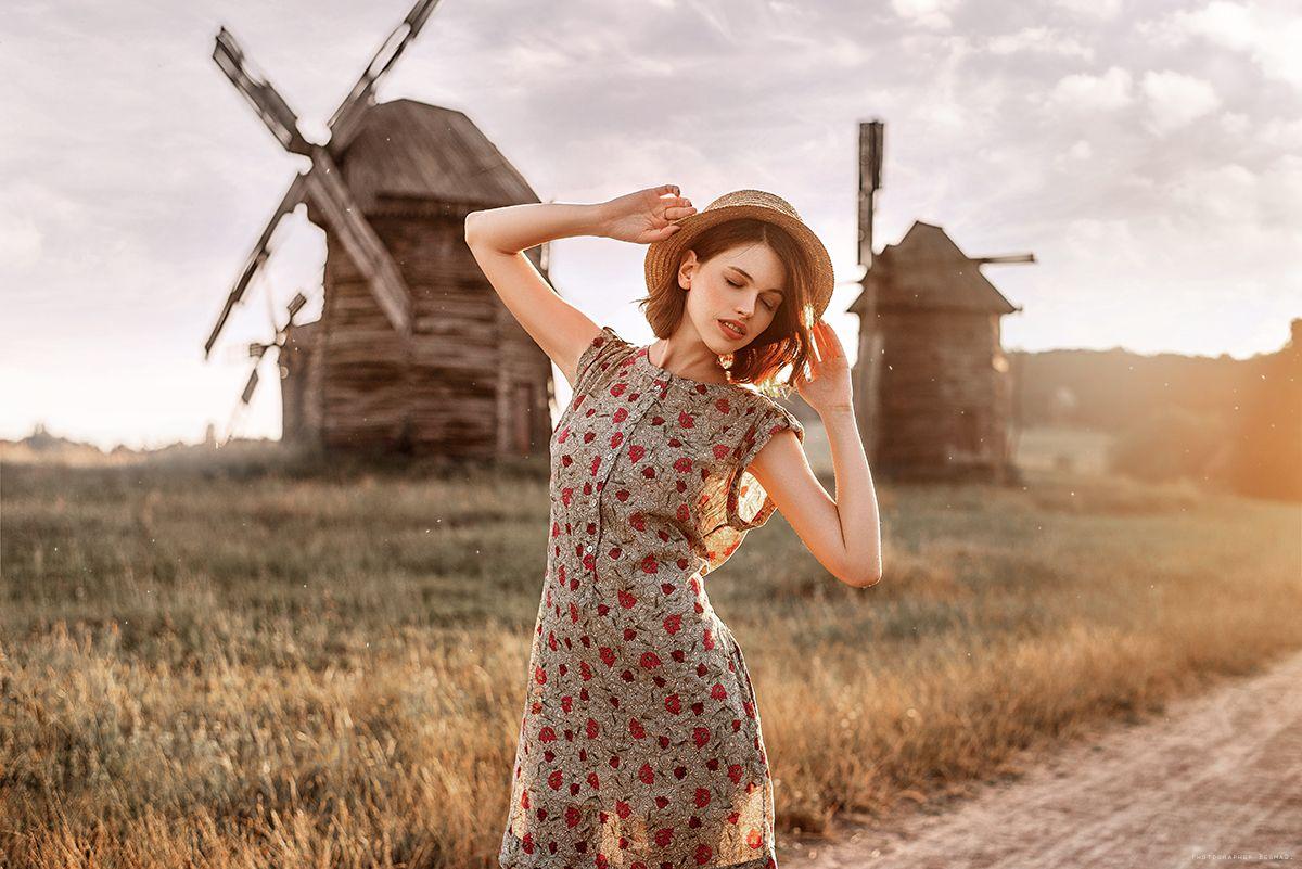 потом сельские девушки на природе фото девочка именно такие