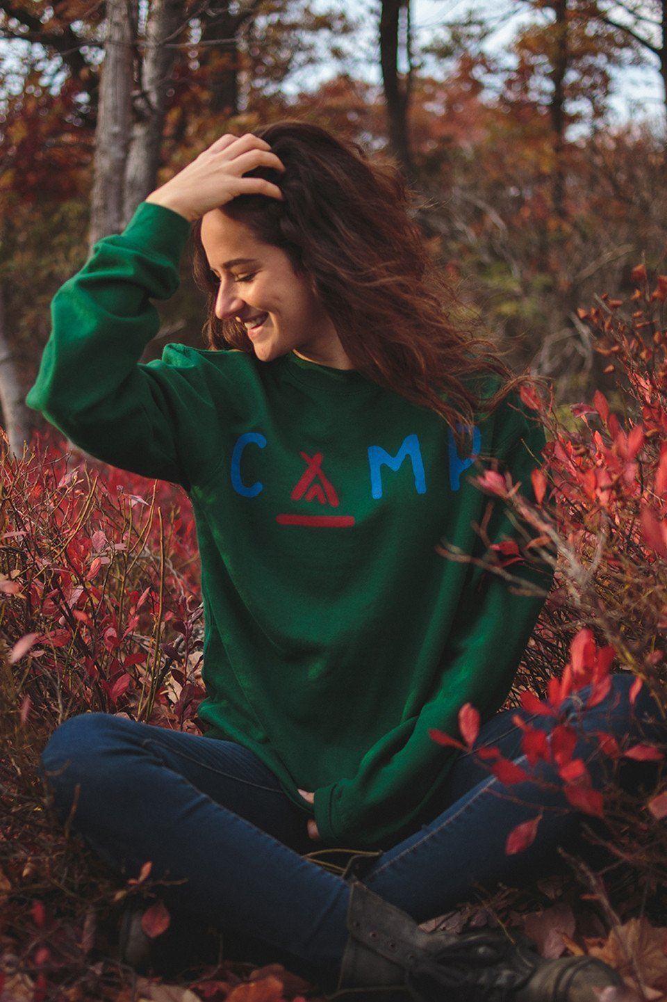 The new relaxed-fit style of this comfy sweatshirt will ...