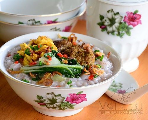 Bubur Nasi Resep Masakan Asia Makanan Masakan