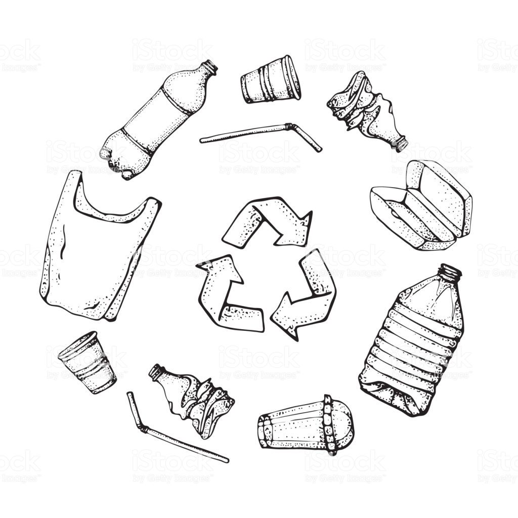 Recycling Products Drawing Google Search How To Draw Hands