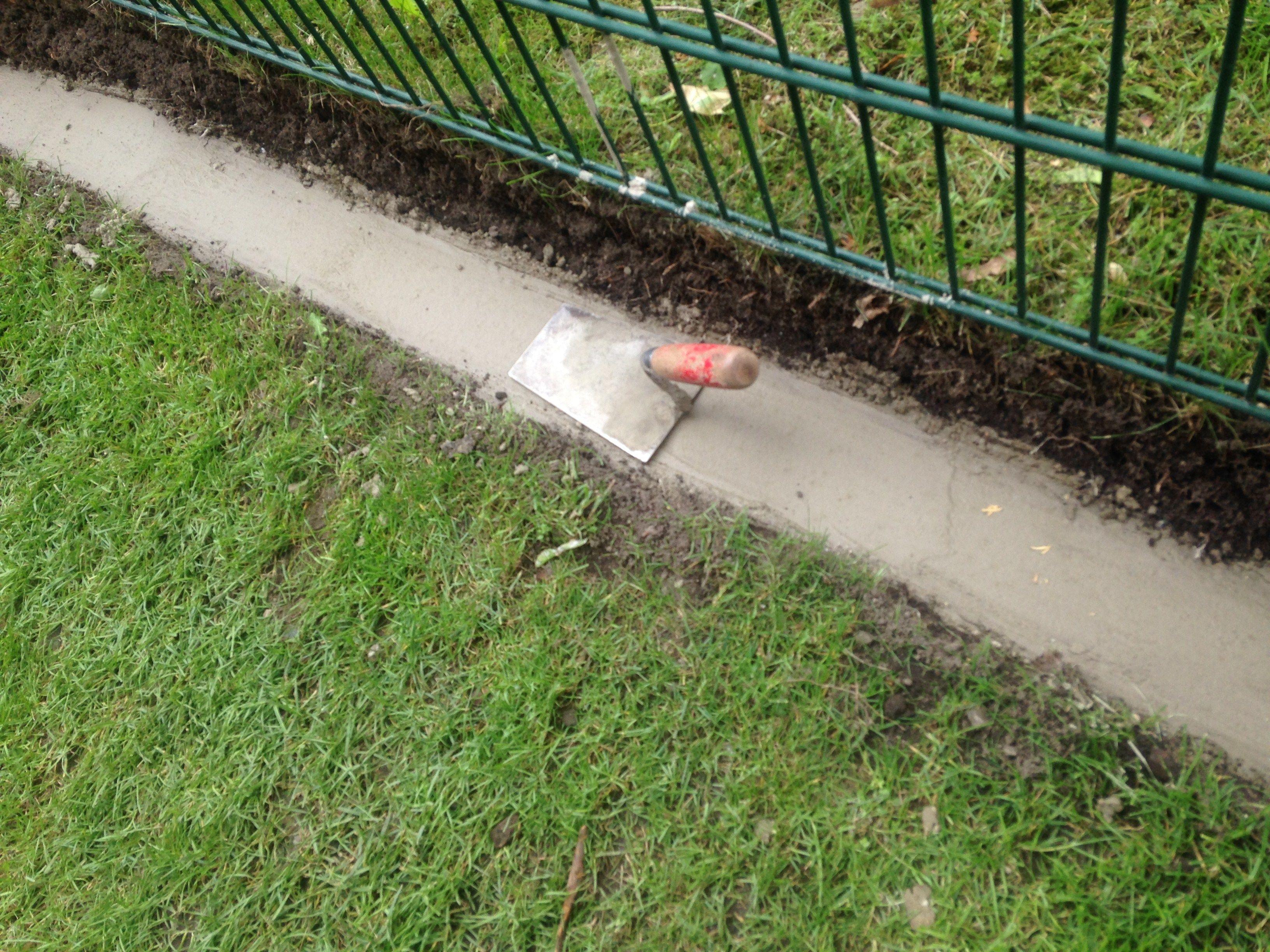 rasenkantensteine verlegen ohne beton