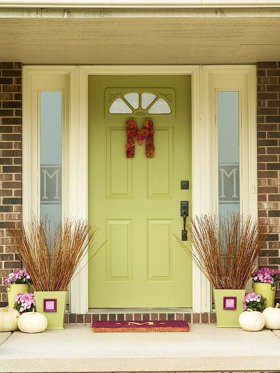 We Share With You Beautiful Examples Of Exterior Door Decorating Ideas Designs