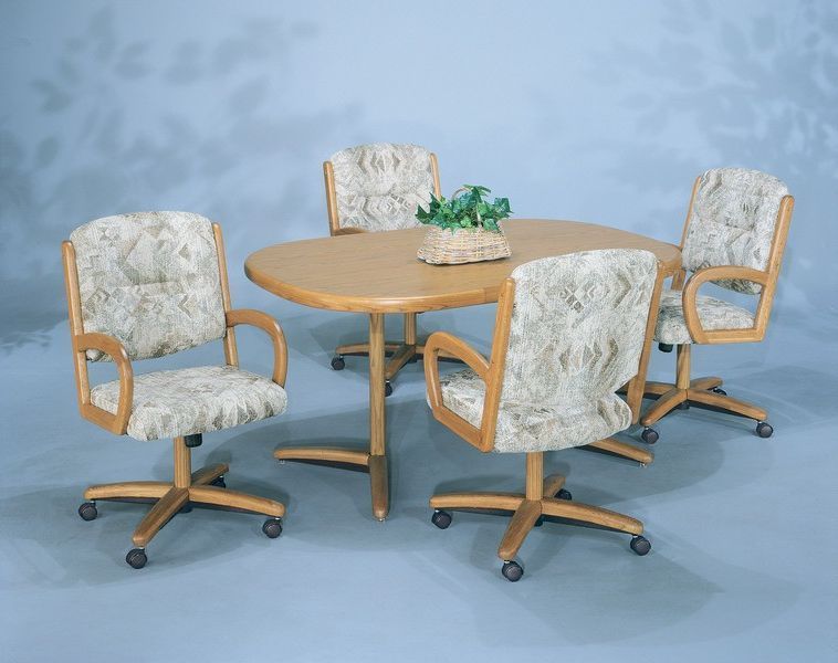 Kitchen Table Sets Chairs With Wheels And I Need To Know How I Can Buy This On Line I Have Kitchen Table Settings Kitchen Table Chairs Dining Room Chairs