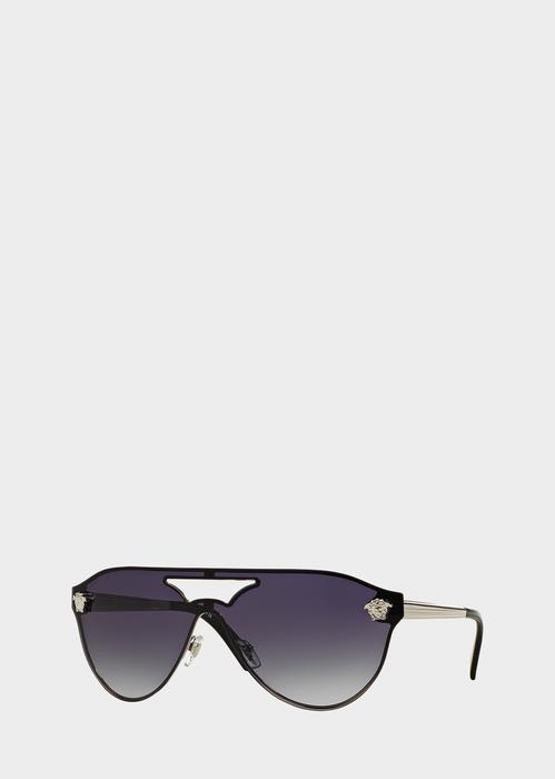 8799099c1a VERSACE Medusa Visor Sunglasses.  versace  medusa visor sunglasses ...
