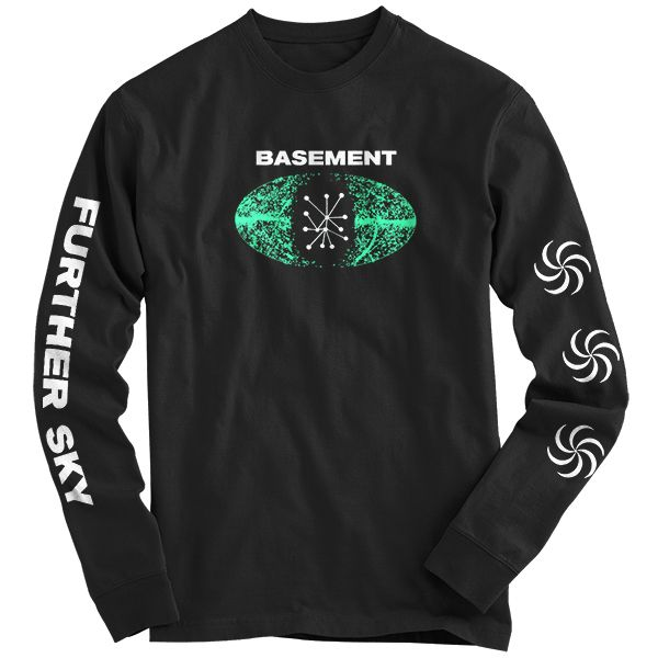 Beautiful Basement T Shirts Part - 8: Run For Cover Records - Basement - Further Sky Long Sleeve Shirt
