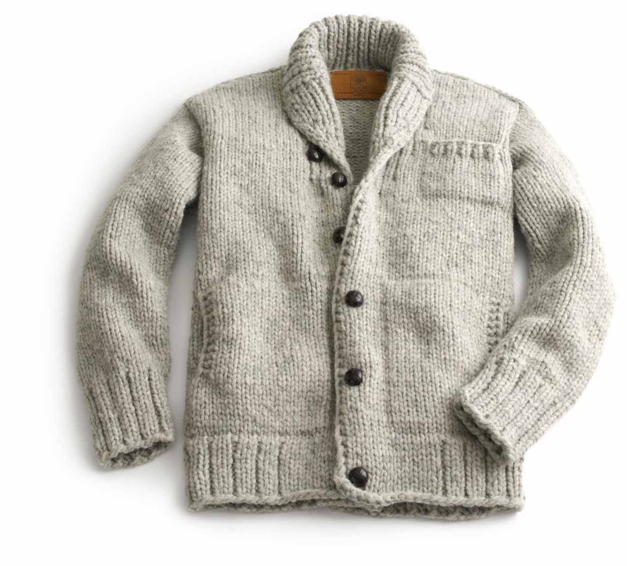 Canadian Sweater Company Cowichan sweater (Made in