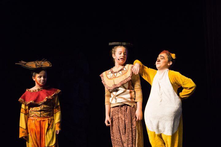 Simba, Nala, and Timon