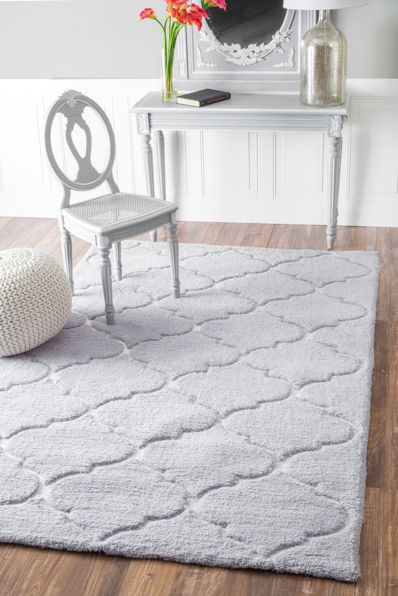 Nuloom Cine Kathline Grey Shag Area Rug Rugs In Living Room Grey Shag Rug Round Rug Living Room