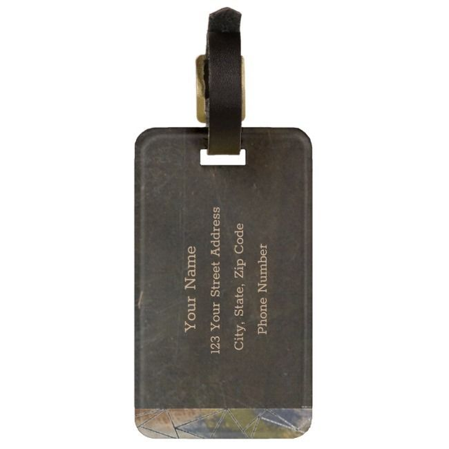 Mountains Are Calling Luggage Tag The Mountains Are Calling Luggage Tag