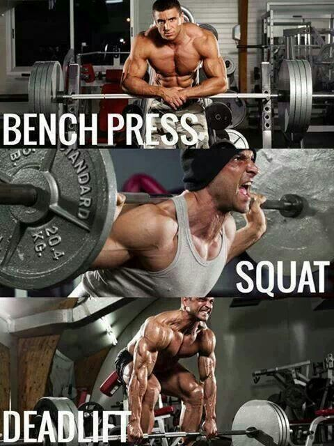 Image result for the big three compound lifts