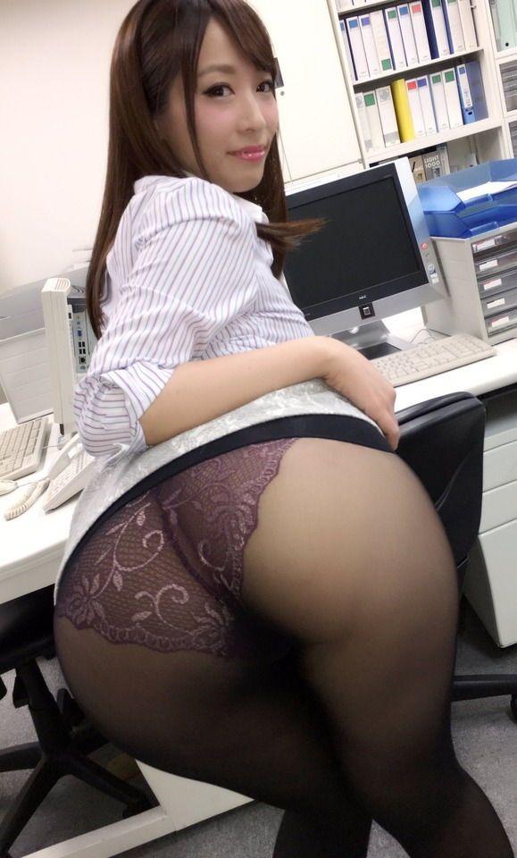 Japan Girl Bent Over