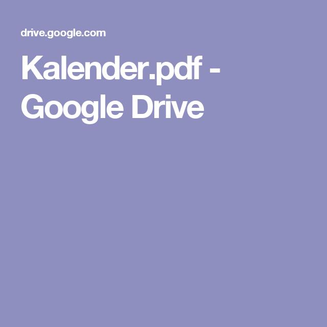 Kalender.pdf - Google Drive