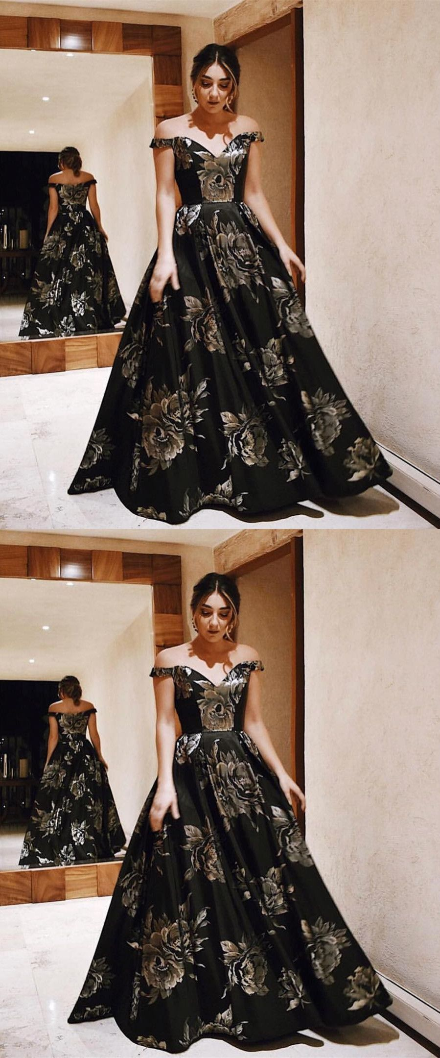 Elegant off shoulder prom party dresses chic evening gowns with