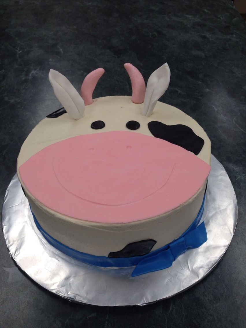 Cow Birthday Cake Topsimages