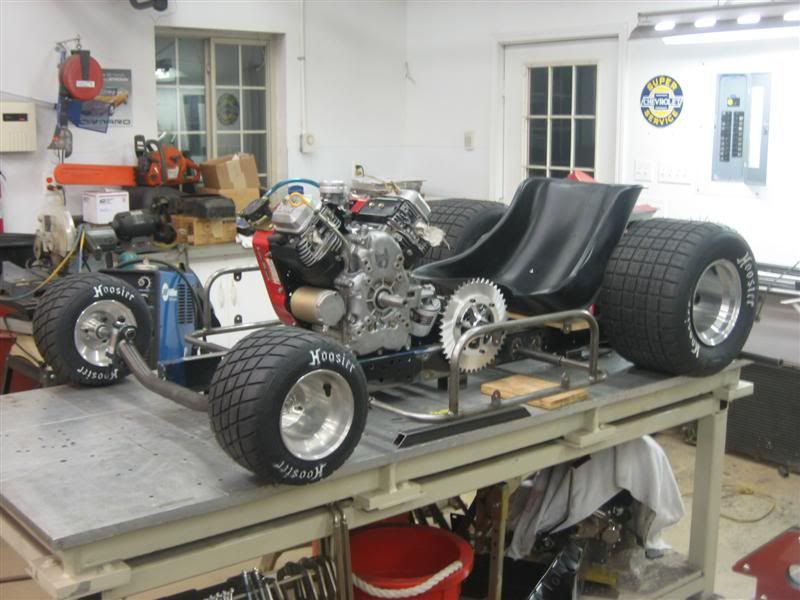 Lawn Tractor Frames : Racing lawn mower frame build design reviews