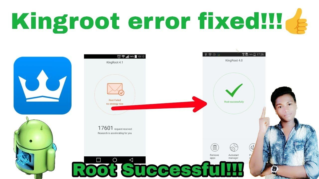How to fix kingroot root failed |How to root any Android device | Mr