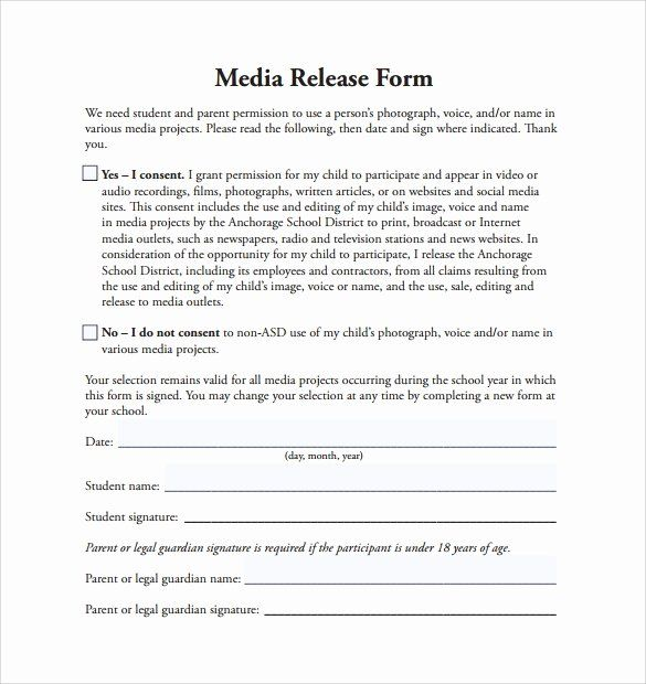 30 Social Media Permission Form In 2020 Consent Forms