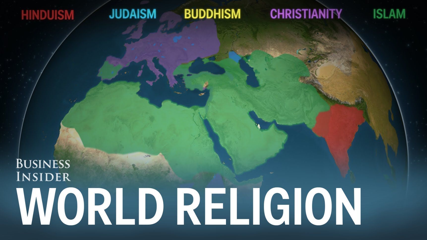 Hinduism Buddhism Christianity Judaism And Islam Are