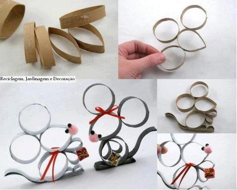 Arte Con Rotoli Di Carta Igienica : Riciclo rotoli carta igienica più di idee originali funlab