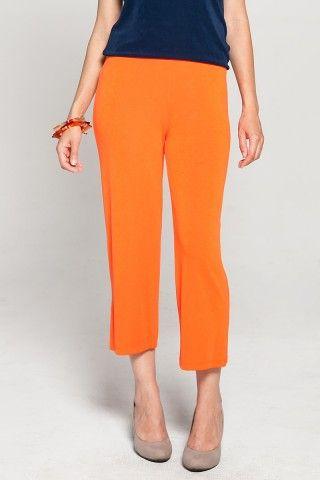 Slinky Cropped Pants - Kim & Co