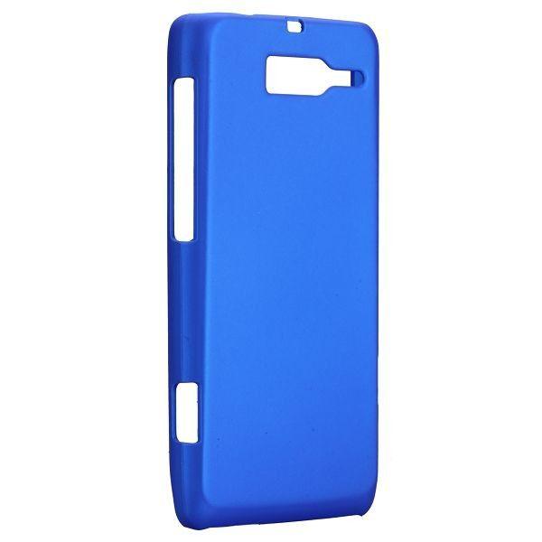 Hard Shell (Sininen) Motorola DROID RAZR M Suojakuori