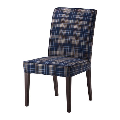 henriksdal chaise rutna multicolore ikea maison pinterest maisons. Black Bedroom Furniture Sets. Home Design Ideas