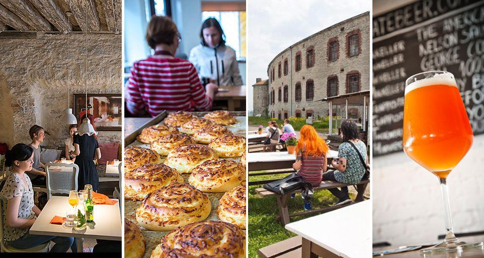 Tallinnassa on niin paljon ihanaa koettavaa, syötävää ja juotavaa!
