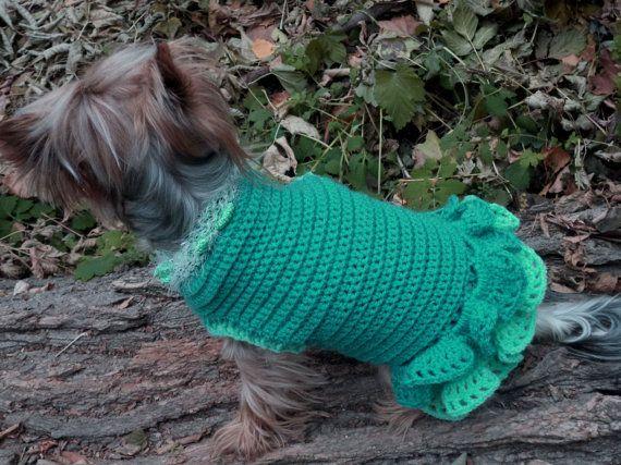 Sweatshirt Dog Hoodie Dog Coat Outwear Hand by LyudmilaHandmade