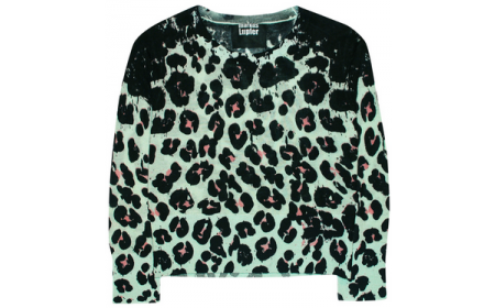 my at the moment obsession mint/animal print