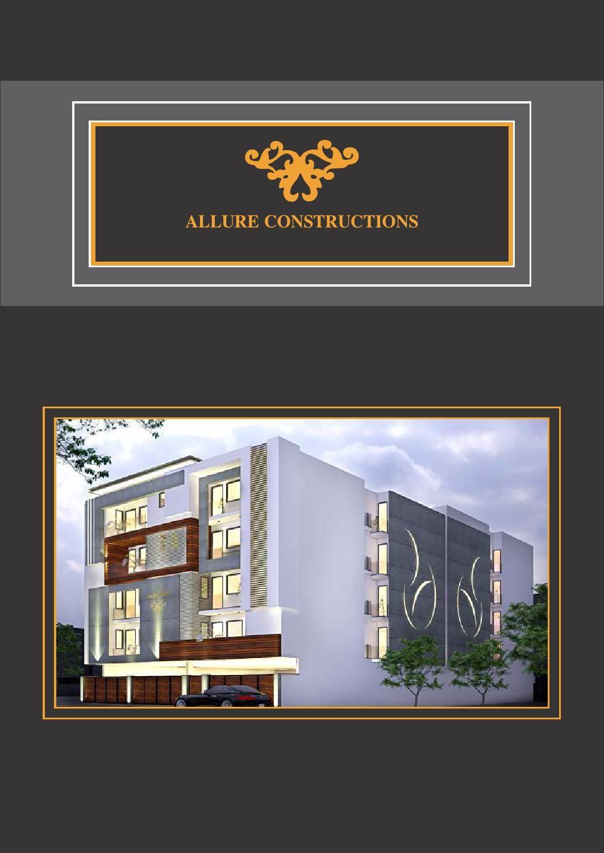 Allure Construction Main Gate Design Gate Design Construction