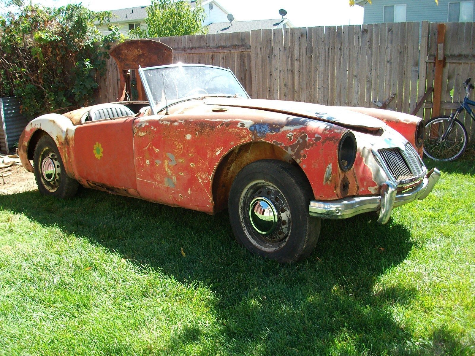 1958 mg mga | Restoration and Cars