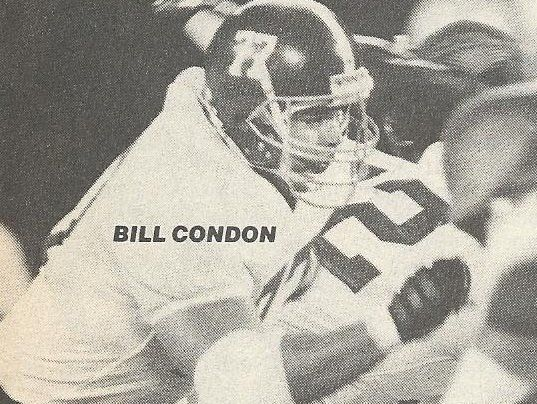 Bill Condon #CrimsonTide 1984-1987 #AllSEC #AllAmerican