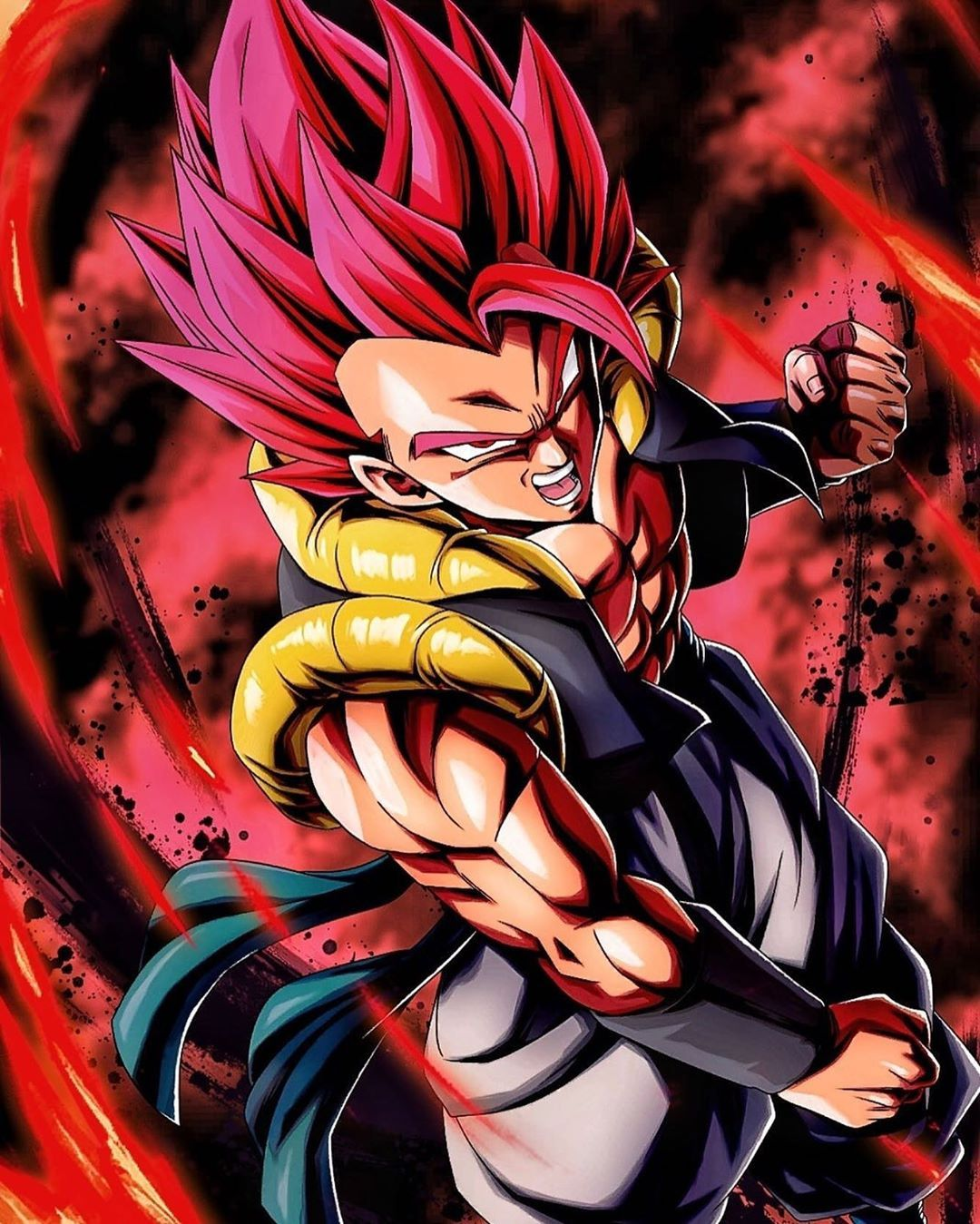 Super Saiyan God Gogeta Follow Official Gogeta Blue For More Dragon Ball E Anime Dragon Ball Super Dragon Ball Super Manga Dragon Ball Super Wallpapers