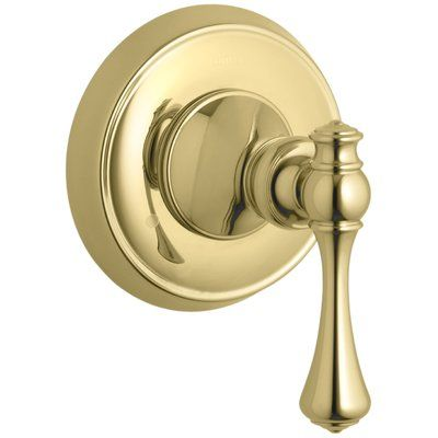 Kohler Revival Valve Trim With Traditional Lever Handle For