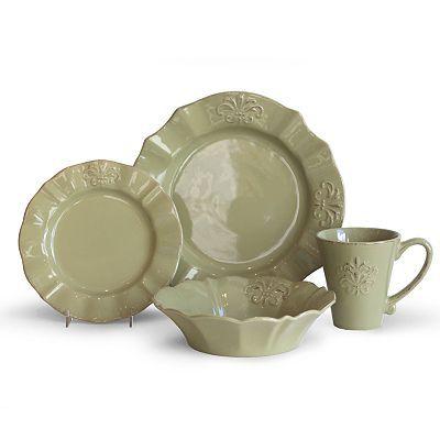 Baum Provence Sage 16-pc. Dinnerware Set, $129.99, good reviews ...