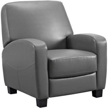 Mainstays Home Theater Recliner Multiple Colors Black Walmart Com In 2020 Theater Recliners Recliner Home Theater Seating