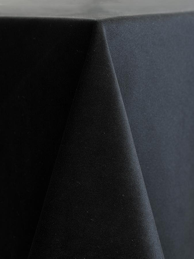 Velvet   Black A 1 Tablecloth Company