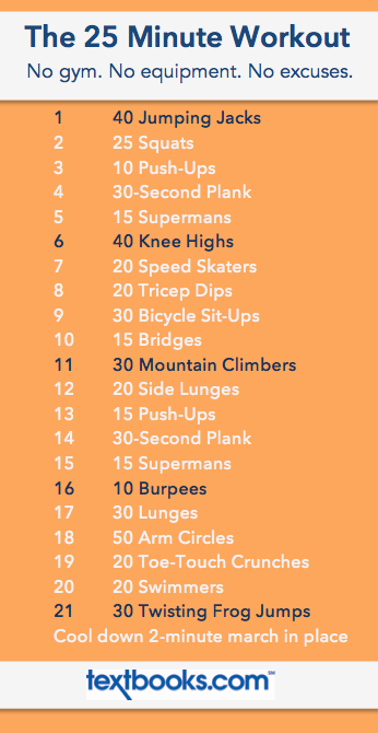 The 25 Minute Workout // 21 Moves In 25 Minutes // No Equipment Needed Part 25