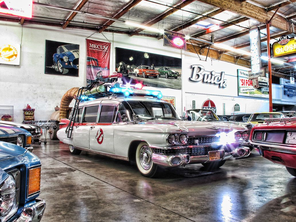 Driving the Ghostbusters Cadillac Ecto 1 | American Muscle Power ...