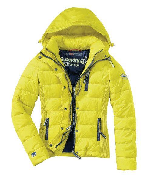 factory price aa52b c4adf Superdry Jacke gelb Conleys 129,-   mode ° fashion ° mode ...