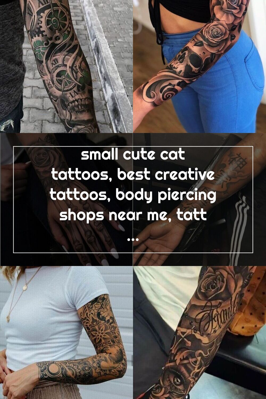 Small Cute Cat Tattoos Best Creative Tattoos Body Piercing Shops