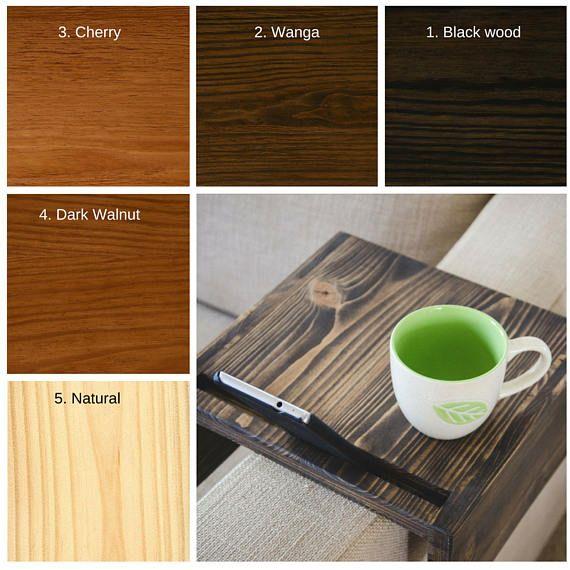 Pleasant Sofa Arm Table Tv Tray Armrest Side Table Couch Table Machost Co Dining Chair Design Ideas Machostcouk