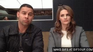 "Angela Mace on Twitter: ""My #WCW @Stana_Katic can brighten ur bad day&put a smile on ur face when its last thing u want 2 do. Lol moment 👇❤😂 https://t.co/hIqSa7nJhW"""