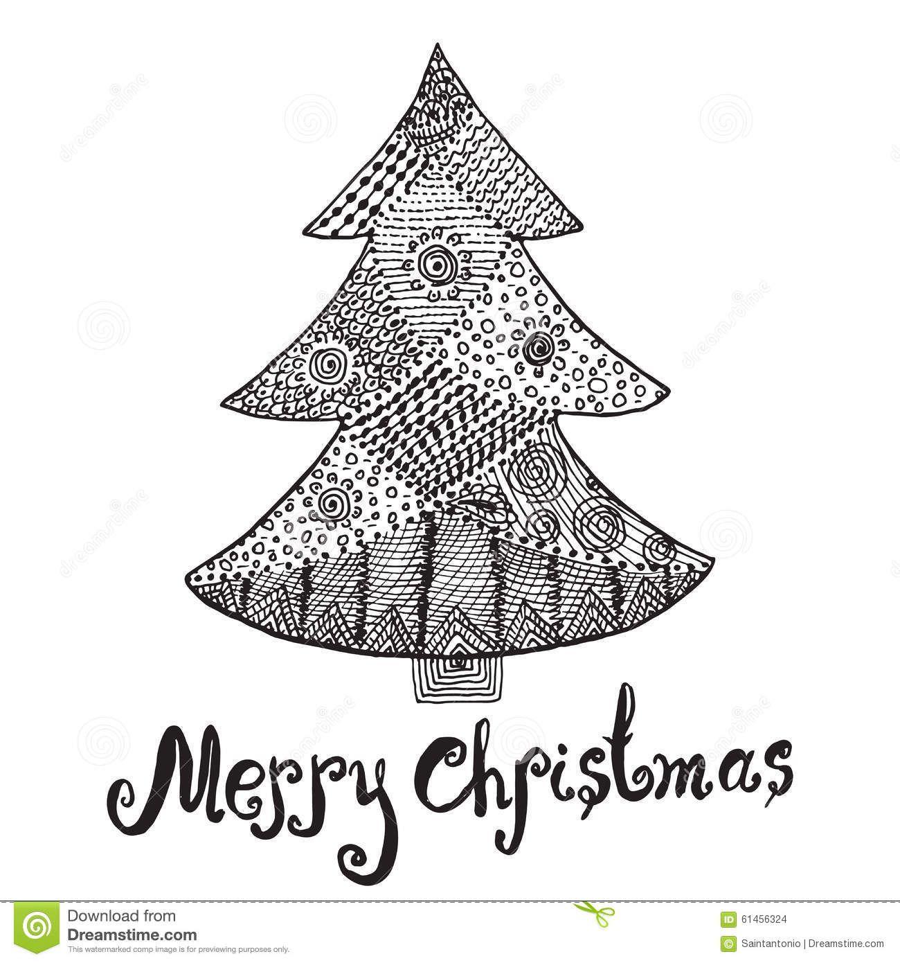 Bildergebnis Fur Zentangle Weihnachtsbaum Malerei Malen Mit Kindern Bilder