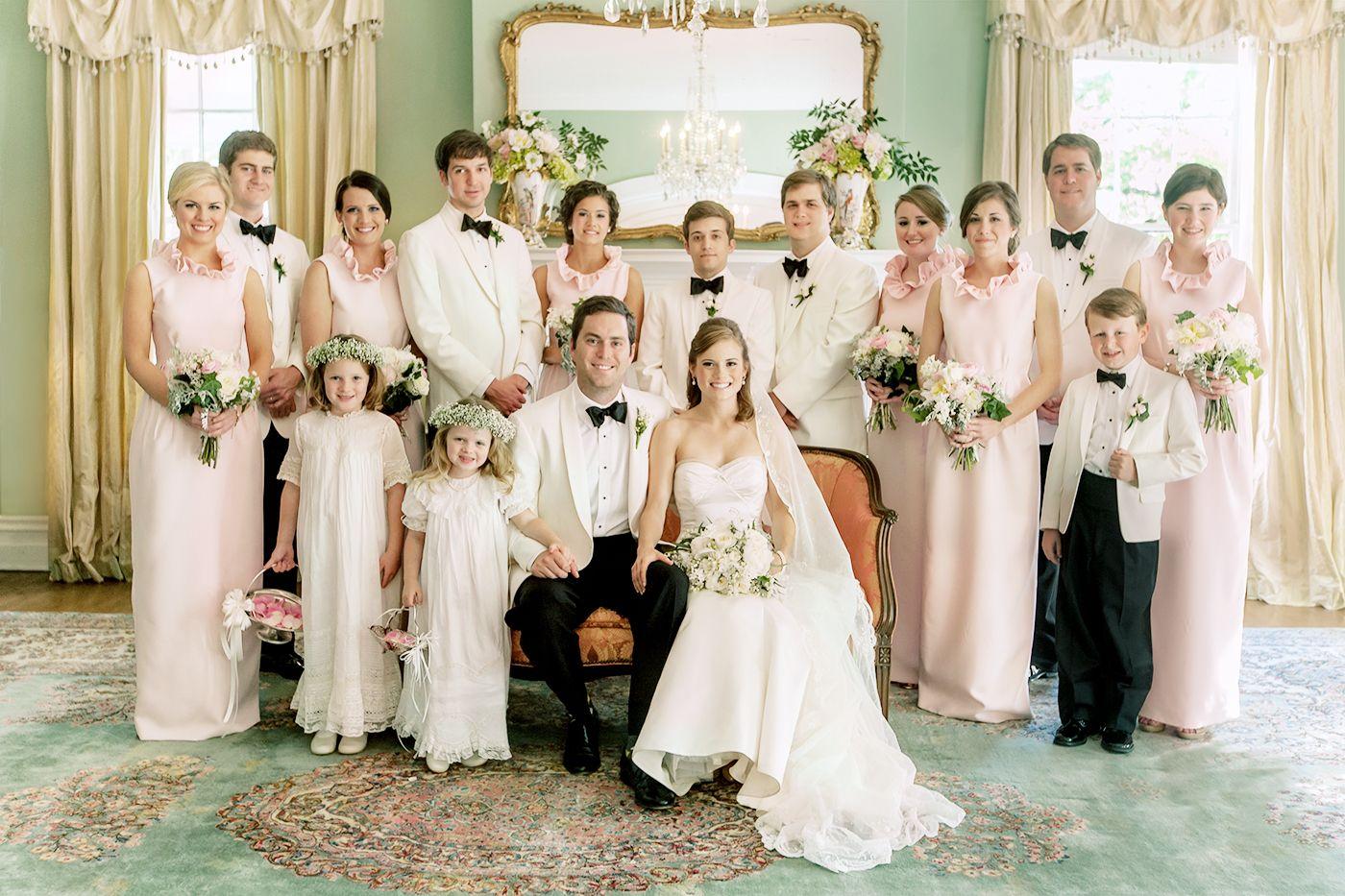 Augusta, GA wedding party. Camilyn Beth bridesmaids dresses. Anne ...